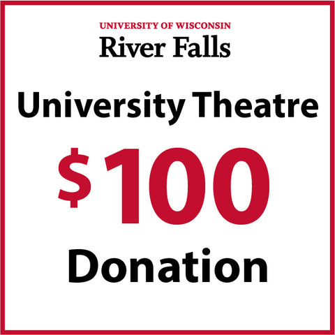 $100.00 Theatre Department Donation