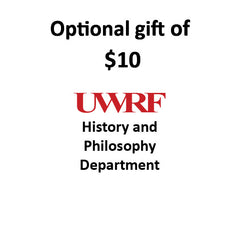 $10.00 Gift to History & Philosophy Department