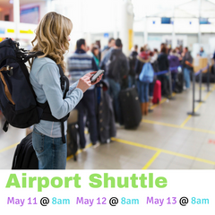 International Student Airport Shuttle (End of Spring 2017 Semester)