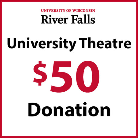 $50.00 Theatre Department Donation