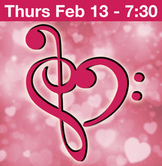 Amor and More Cabaret Feb 13, 7:30