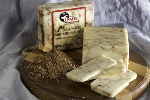 Cocoa Infused White Cheddar Cheese