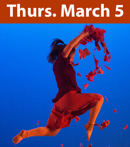 Dance Theatre March 5, 7:30 pm
