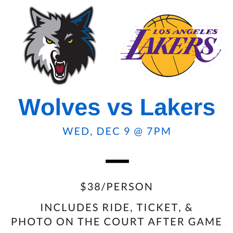 NBA Game - Timberwolves vs Lakers (Dec 9)