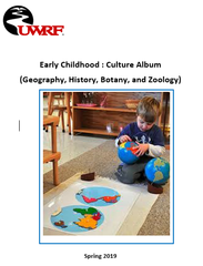 Teacher Manual | Early Childhood : Culture Album