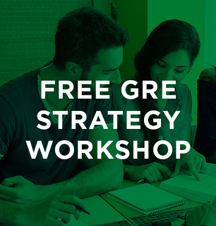 GRE Strategy Workshop 3/6/18 6pm ONLINE