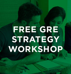 GRE Strategy Workshop 1/24/18 6pm ONLINE