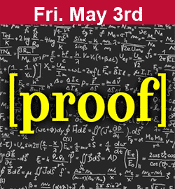"""Proof"" May 3"
