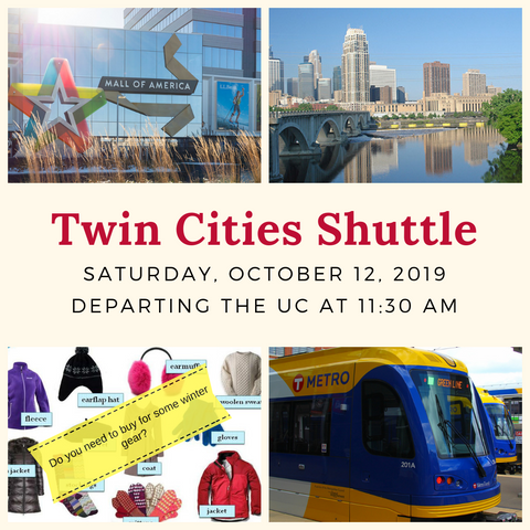 Twin Cities Shuttle - October 12, 2019