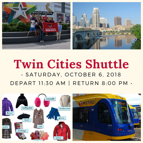 Twin Cities Shuttle - October 6, 2018