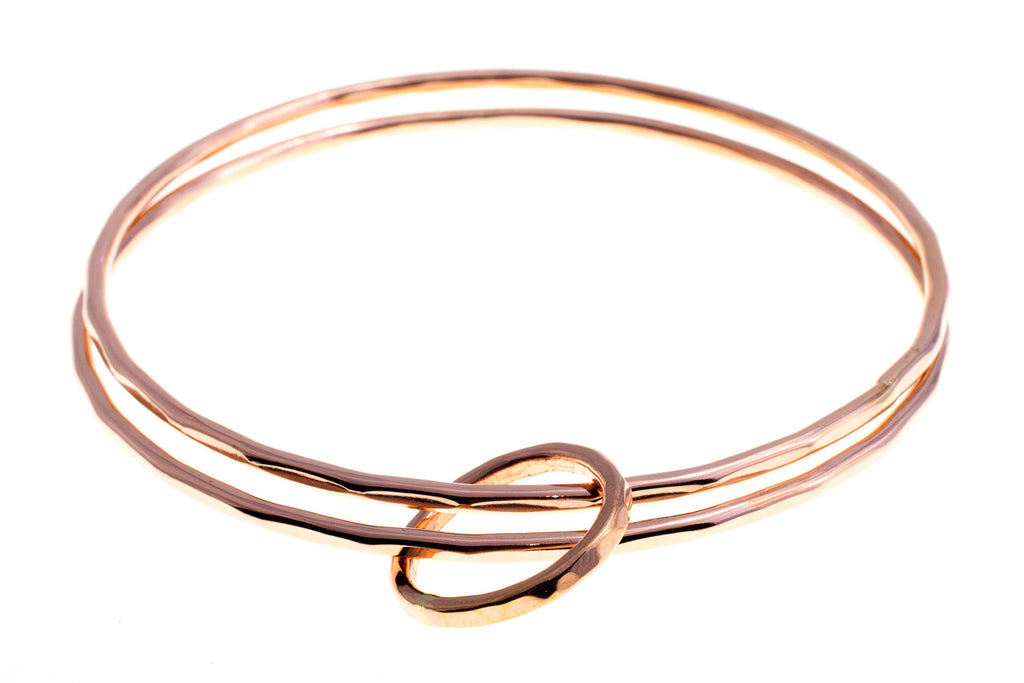 Union Rose Gold Bangle