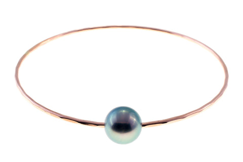 Tahitian Pearl Rose Gold Bangle