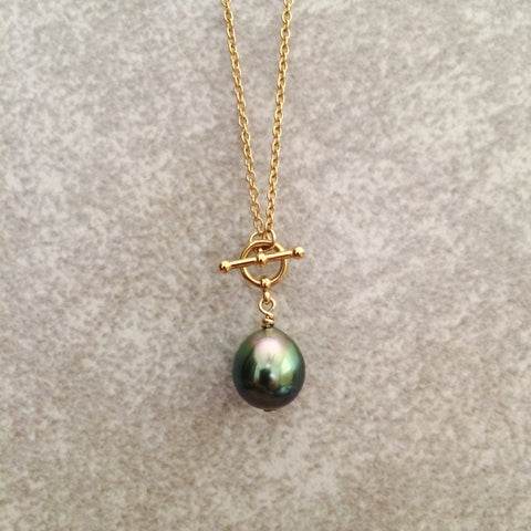Tahitian Teardrop Necklace