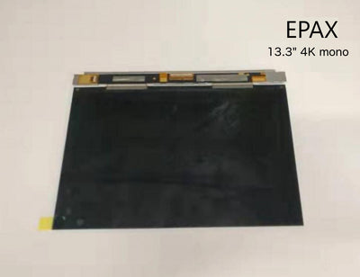"13.3"" 4K monochrome light curing display LCD for EPAX X133 3D resin printer"