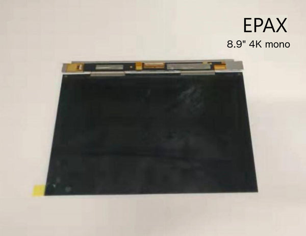 "EPAX 8.9"" 4K Monochrome LCD Screen Upgrade Kit for EPAX X10 Printers - coming soon!"