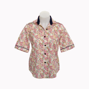 100% Cotton - Short Sleeve Blouse