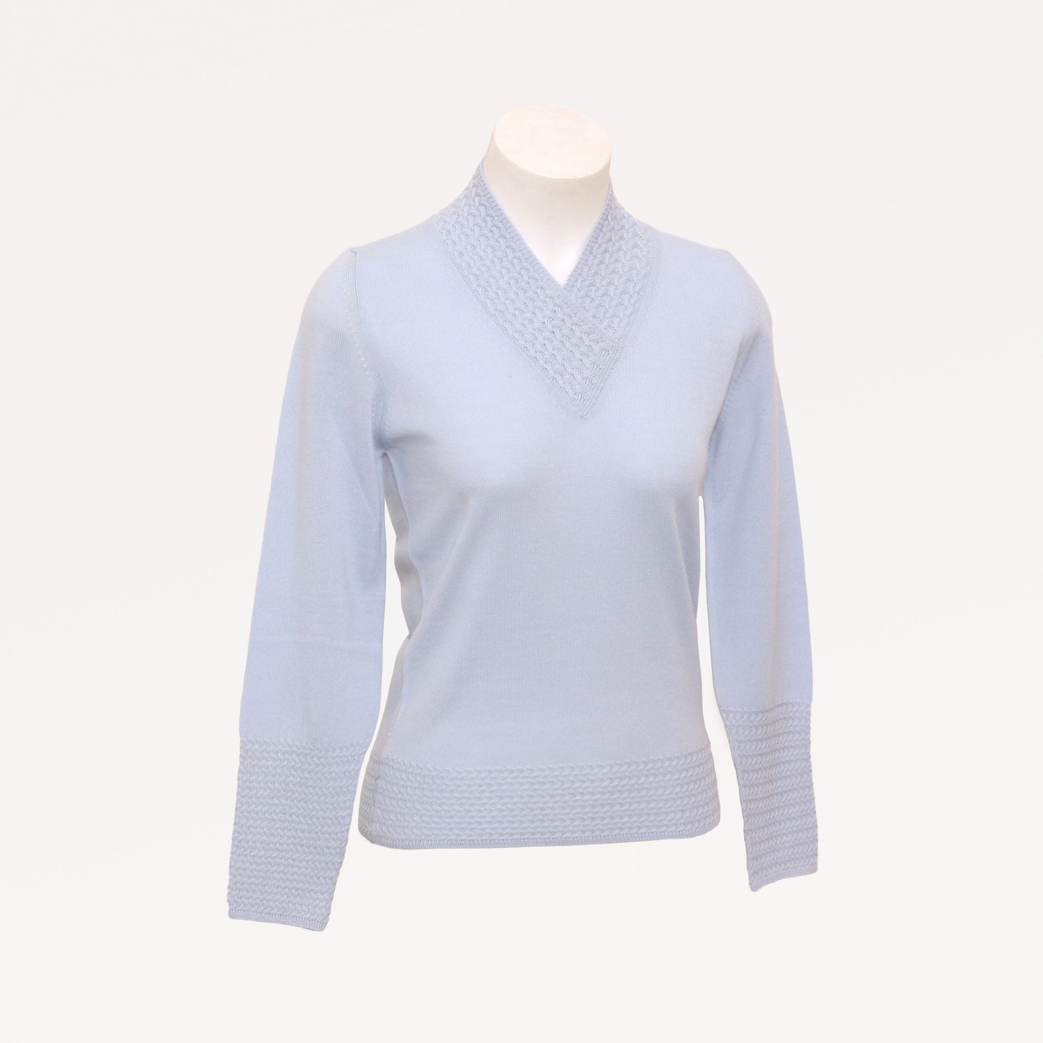 Italian Made Eloise V Neck Jumper