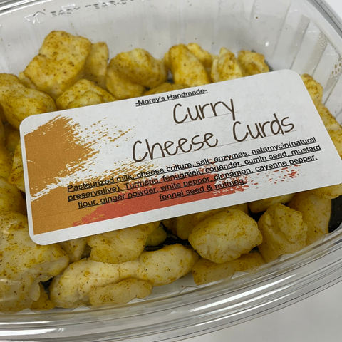Curry Cheese Curds