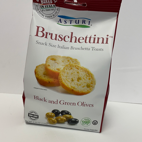 Bruschettini Black & Green Olive