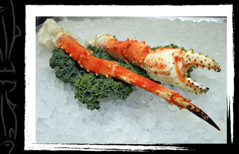 King Crab Legs and Claws - 4 lbs.