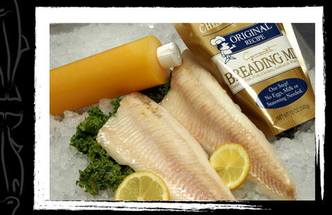 Walleye - Skinless 5 LB Fry Kit