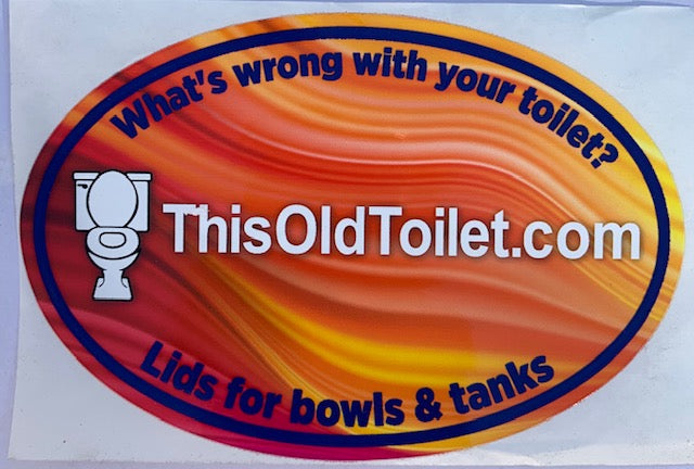 Lids for toilet bowls and tanks