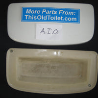 Tank Lid AIO White. - This Old Toilet