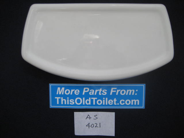 Tank Lid Amerian Standard Cadet 3 #4021, #735.121, 735121 - This Old Toilet