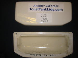 Tank Lid American Standard Renaissance #4028, 735.023 - This Old Toilet