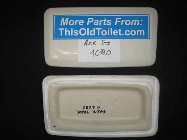 Lid American Standard Roma 2-piece 4080 - This Old Toilet