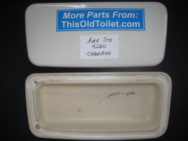 Tank Lid Amerian Standard Champion # 4260, 735.100 - This Old Toilet