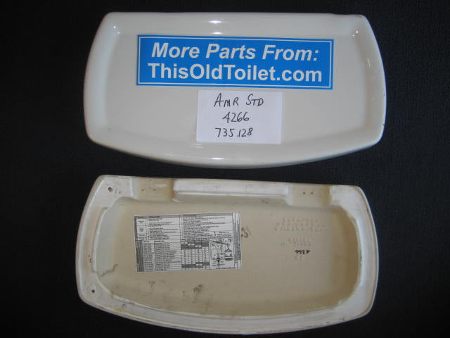 Lid Amerian Standard Champion 4 # 4266, 735.128. 735128 - This Old Toilet