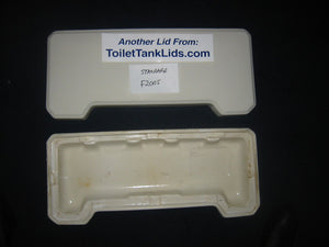 Lid American Standard # F2005, 2005 - This Old Toilet