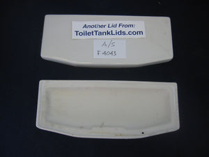 Tank lid American Standard Cadet # F4043, 4043 - This Old Toilet