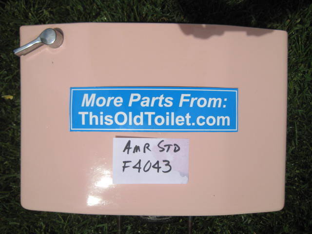 Tank American Standard Cadet & Compton # F4043, 4043 - This Old Toilet