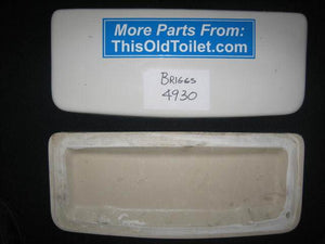 Lid Briggs 4930 - This Old Toilet