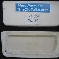 Tank Lid Briggs 7421 - This Old Toilet