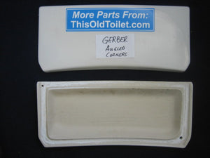 Lid Gerber Ultra Flush 28-799 angled front corners - This Old Toilet