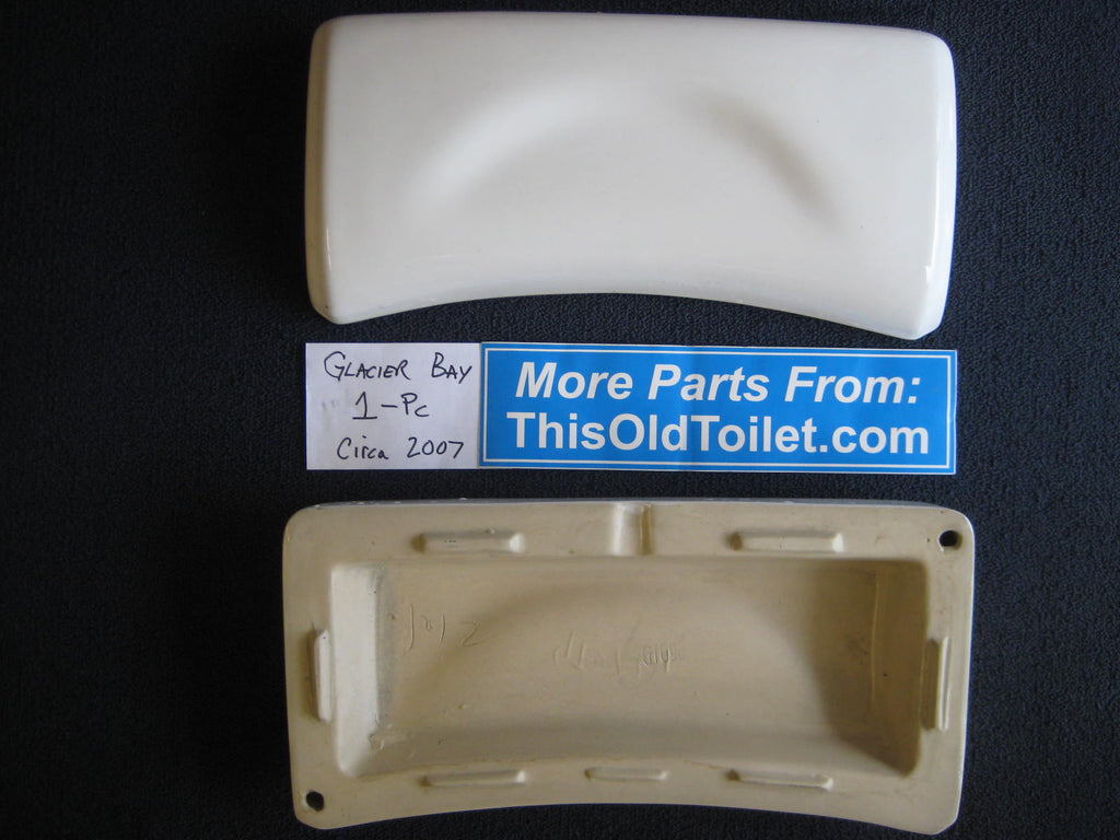 Toilet tank lid Glacier Bay 364-913 for one-piece model
