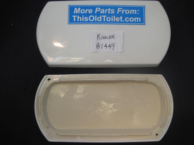 Lid Kohler K-4471, K4471, 4471, 81449 - This Old Toilet