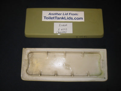Lid Kohler Wellworth, Trylon K-4552, K4552, 4552, 80469 - This Old Toilet