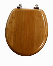 Toilet seats Bamboo, Oak, and Walnut veneer