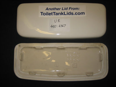 Lid Universal Rundle UR, URC, (UPC) Amega, Amega Two 4437, 4467 - This Old Toilet