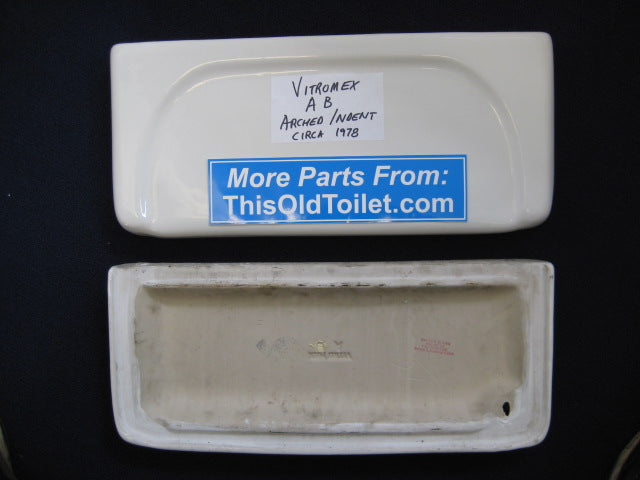 Tank Lid Vitromex AB - This Old Toilet