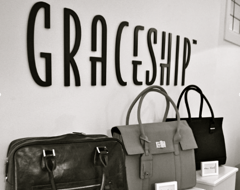 GRACESHIP Women's Laptop Handbags - Vegan Leather Computer Bags