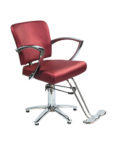Star Styling chair in Burgundy color