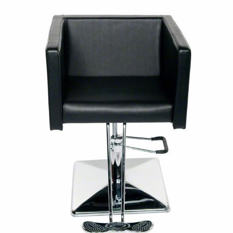 cube styling chair in all black