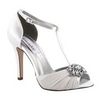 Everly Satin beaded front pump