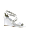 Jenna Swoop Strap Wedge By Touch Ups