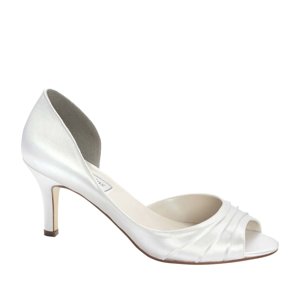 Nadia Simple Pleated Heel